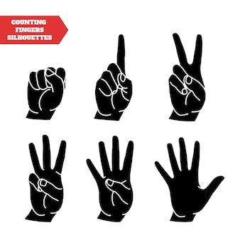Hände zählen eingestellt
