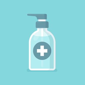 Händedesinfektionsmittel illustration