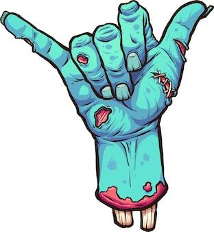Hängen verliert zombie