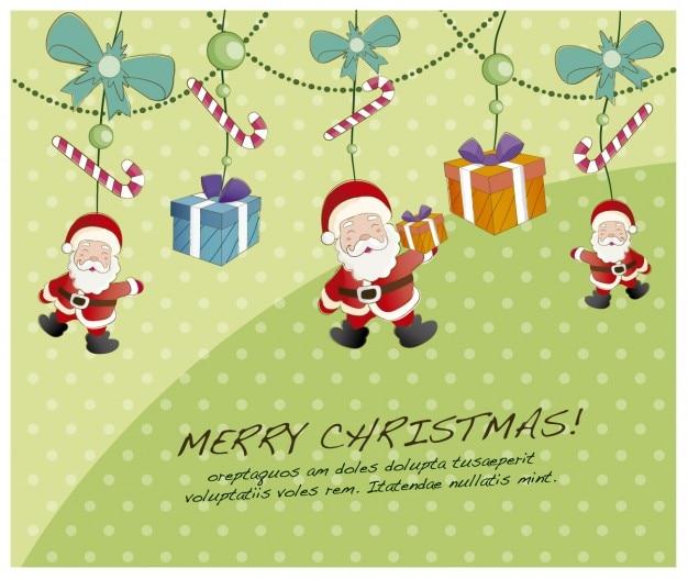 Hängen weihnachts