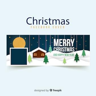 Hängende bäume weihnachten facebook abdeckung