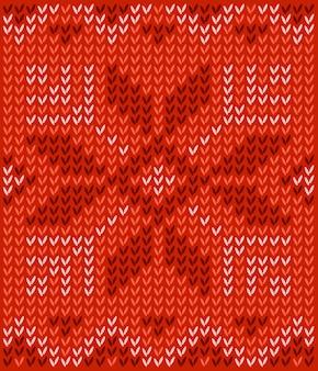 Hässliche strickjacke frohe weihnachten und happy new year grußkartenvorlage. muster mit scand