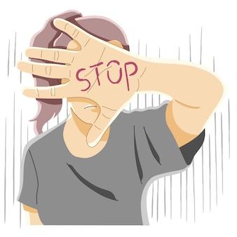 Häusliche gewalt, schläge, bedrohung, alkoholismus-konzept
