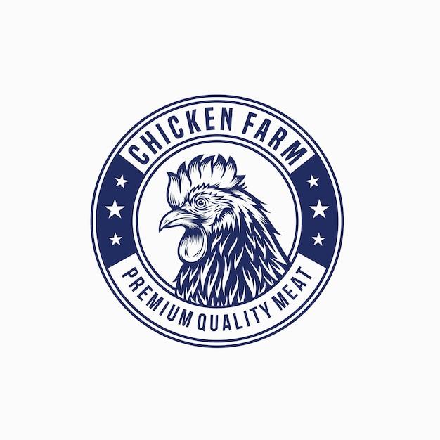 Hahn huhn logo vintage