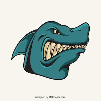 Hai-maskottchen