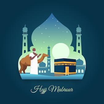 Hajj muslimischer pilger