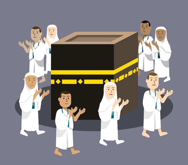 Hajj pilgerfahrt beten um kabaa