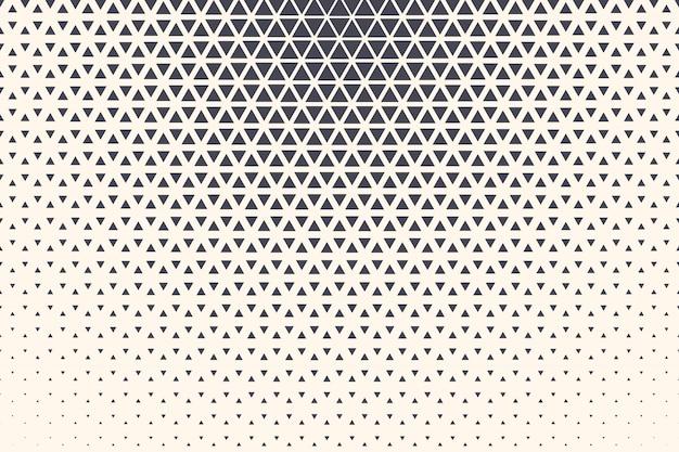 Halbton-dreieck-abstrakter technologie-hintergrund