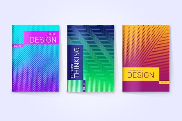 Halbton-farbverlauf-cover-auflistung
