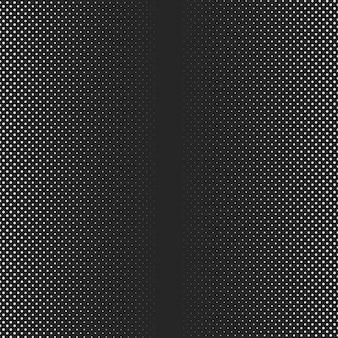 Halbton-gradientenhintergrund mit punkten futuristischer grunge-musterpunkt