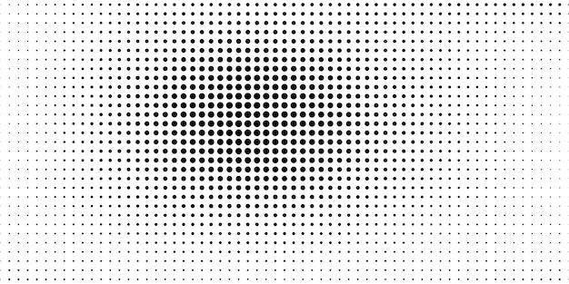 Halbton im abstrakten stil. weißer und schwarzer hintergrund.