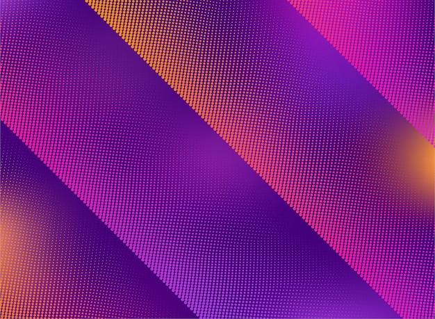 Halbton mit lebendigem farbverlauf abstraktes hintergrunddesign