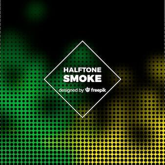 Halbtoneffekt-rauchhintergrund