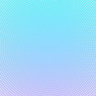 Halbtonpunktdesign auf pastellsteigungshintergrund