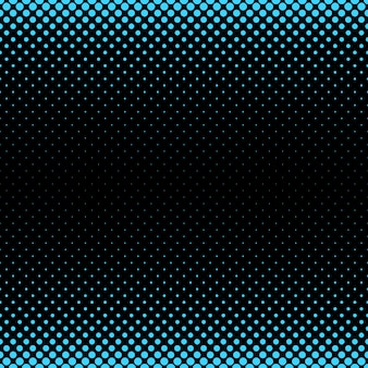 Halftone dot muster hintergrund - vektor-illustration von kreisen in verschiedenen größen