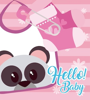 Hallo babykarte
