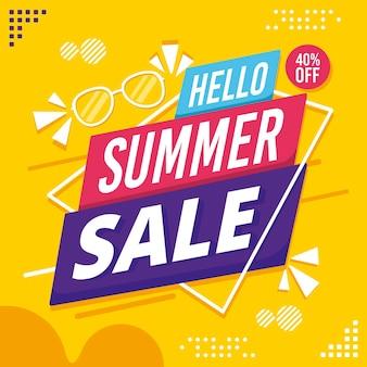 Hallo sommerschlussverkauf