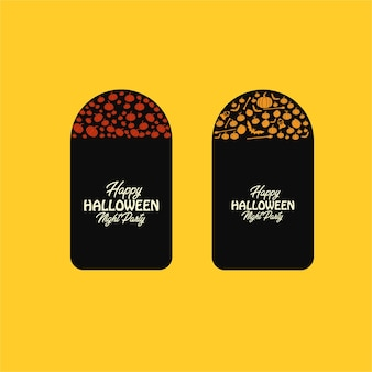 Halloween-abzeichen