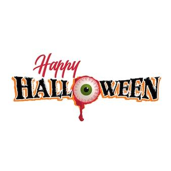Halloween auge