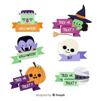 Halloween-bandsatz