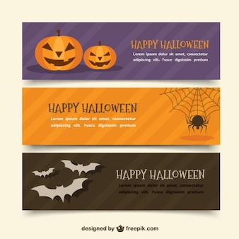 Halloween-banner packen