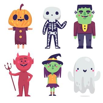 Halloween charakter zeichnen