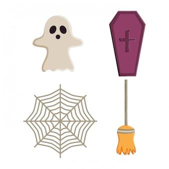 Halloween-elemente