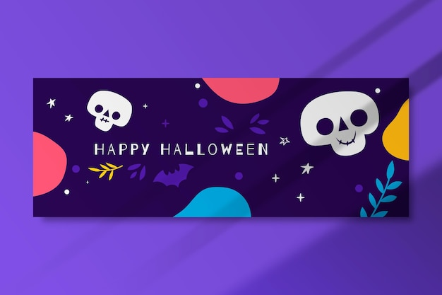 Halloween facebook cover vorlage