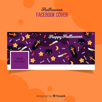 Halloween facebook covervorlage