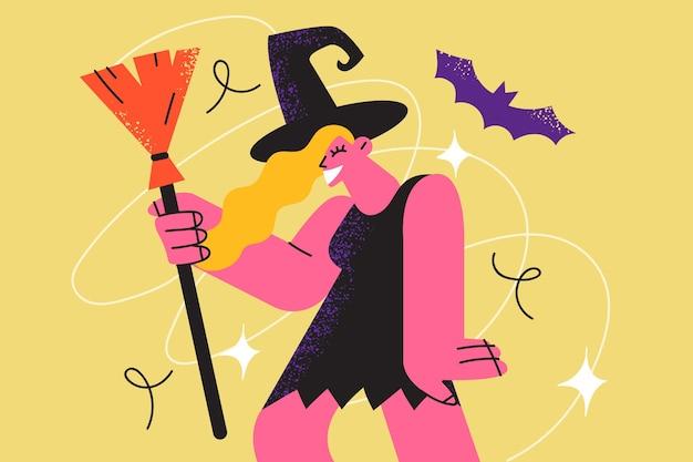 Halloween feier feiertag und festival