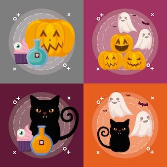 Halloween feier festgelegt