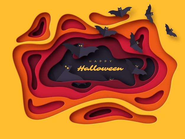 Halloween-feiertagshintergrund. halloween-feiertagshintergrund.