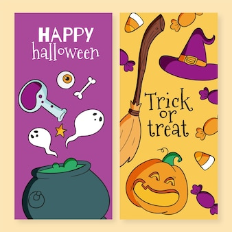 Halloween festival banner
