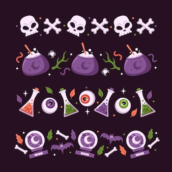 Halloween festival border pack