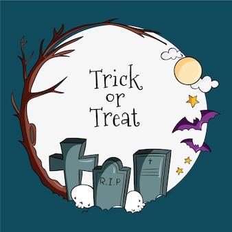 Halloween festival rahmenkonzept