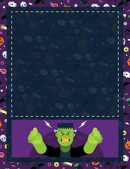 Halloween flayer frankie