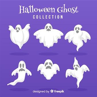 Halloween geister sammlung