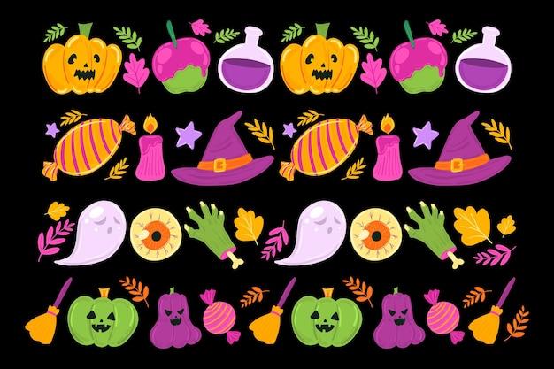 Halloween-grenzsammlung