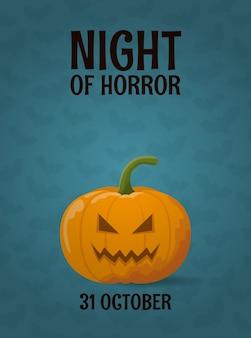 Halloween-gruß-vorlage