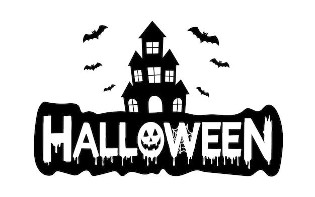 Halloween-hintergrund mit friedhof