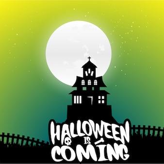 Halloween hintergrund vektoren