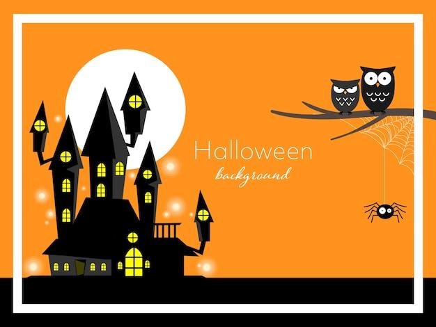 Halloween-hintergrund.