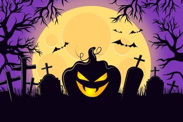 Halloween-hintergrunddesign