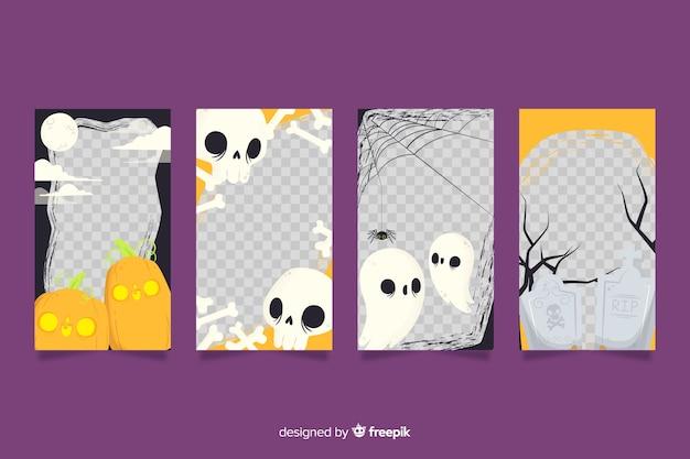 Halloween instagram geschichten sammlung