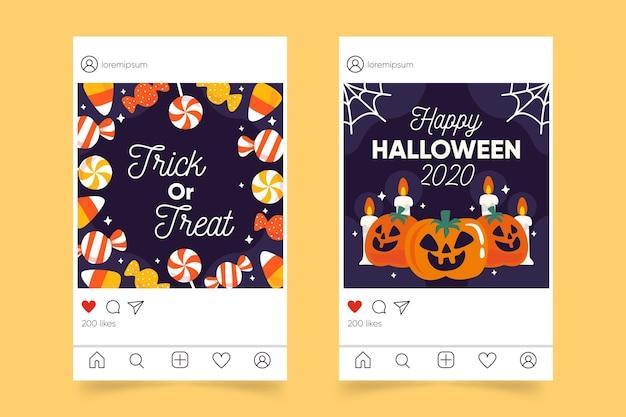 Halloween instagram post