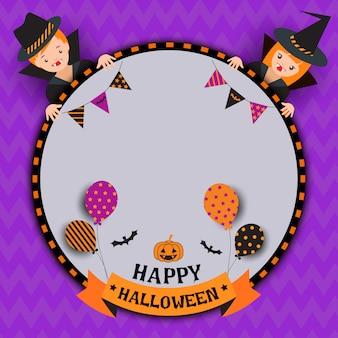 Halloween-junge-mädchen