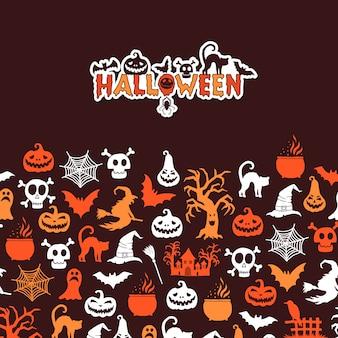 Halloween-karte