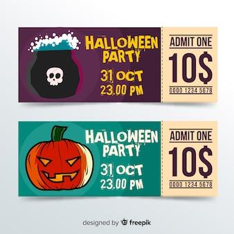 Halloween-karten-konzept