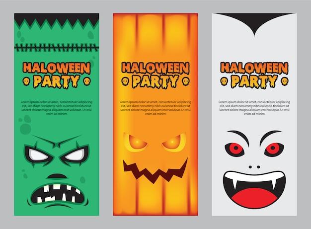 Halloween-karteneinladung