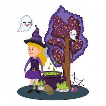 Halloween kinder cartoons